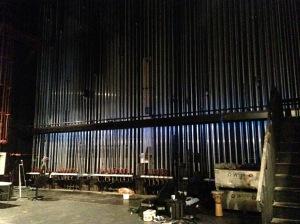Backstage SR flyrail