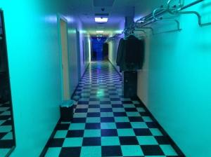 Dressing room hall