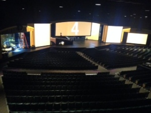 Stage from spot booth
